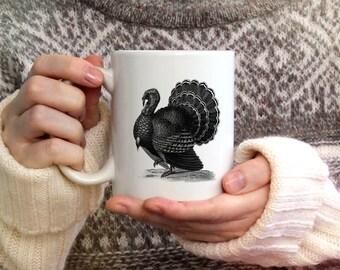 Tom Turkey Mug SPS1424- Kitchen - House-ware - Coffee - Gift - Thanksgiving - Mug - Turkey - Holiday