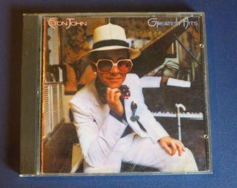 Elton John Greatest Hits CD MCAD-37215 MCA  1974