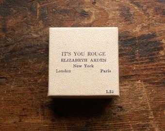 Vintage Elizabeth Arden Rouge Box - Tiny Little Gift Box!