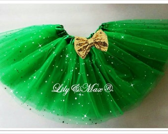 kelly green tutu,Christmas tutu, birthday party favor tutu, favor tutu,Halloween party tutu,st.patricks party tutu,Balet tutu