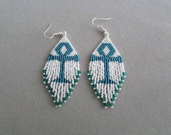 Ankh Earrings