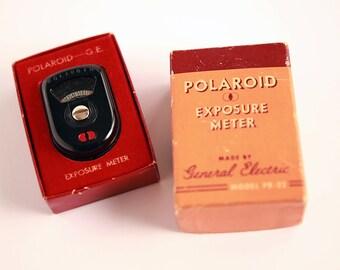 Vintage Polaroid Light Meter, General Electric Polaroid Exposure Meter, Vintage Polaroid, Vintage GE