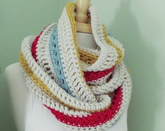 Infinity Scarf - PHOEBE - Free Shipping