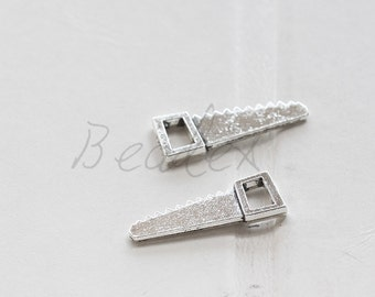 20 Pieces / Saw / Tool / Oxidized Silver Tone / Base Metal / Charm (X4599//C749)