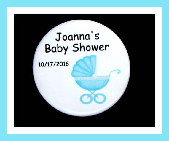 Baby Shower Buggy Favors,Personalized Buttons Pins,Favor Tags,Its a Boy,Party Favors,Birthday Party Favors,Personalized Favors,Set of 10
