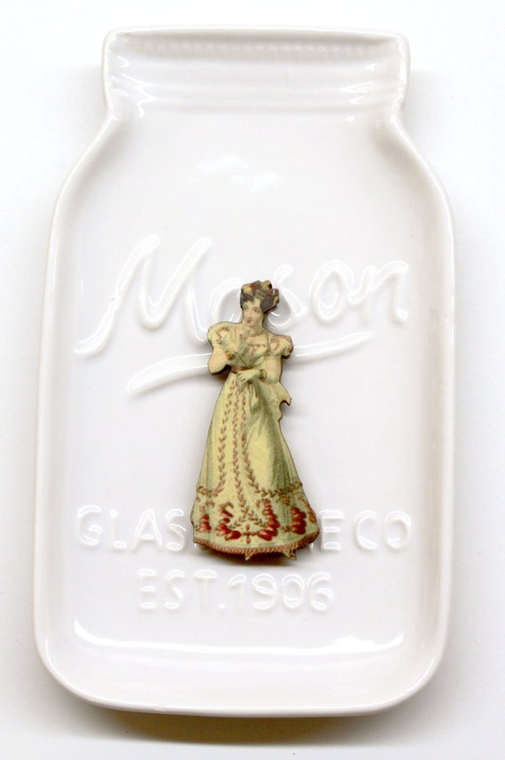 Victorian Lady #5 Needle Minder