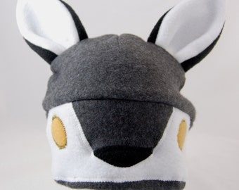 Wolf Fleece Hat