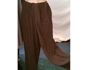 Linen Medieval Pants. SCA LARP Rennaissance