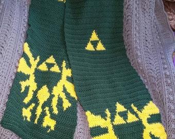 Triforce Bird Legend of Zelda Inspired Scarf #3