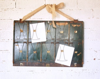 Antique Store Receipt Clipboard Message Board Double-Sided