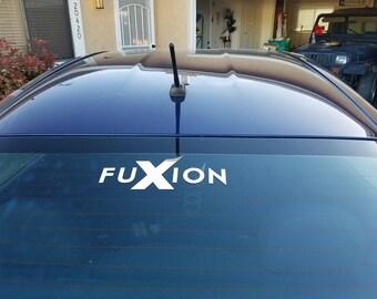 FuXion Car Decal