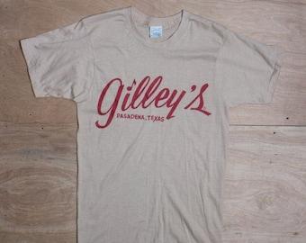 SALE Med | 1980's Vintage Gilley's Pasadena, TX T Shirt Printed on Screen Stars 50/50 | Urban Cowboy