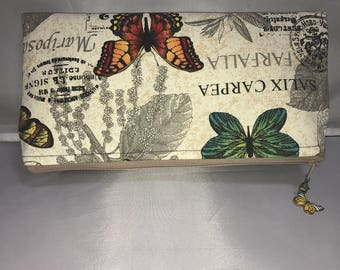 Butterflies and vinyl