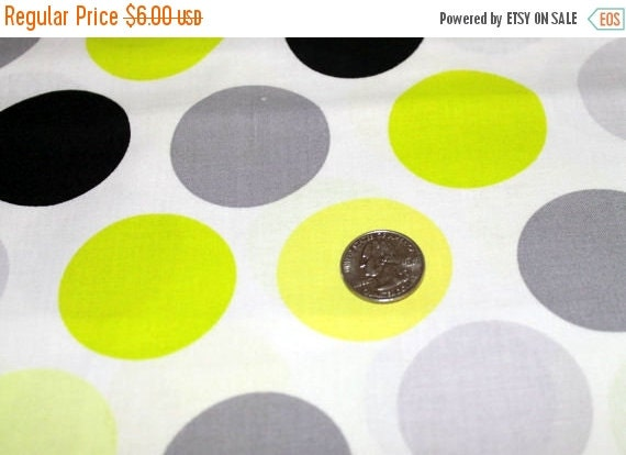 Large Polka Dot Fabric/Circle Fabric/Polka Dot Fabric/Lightweight Fabric/Shirting Fabric/100% Cotton/Apparel Fabric/Fabric by the YARD