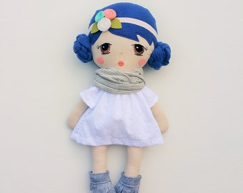 Cloth doll-Handmade cloth doll-custom cloth doll-personalized cloth doll-Created your own custom doll