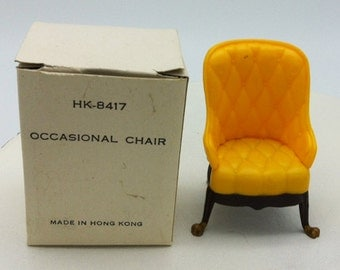 Louis Marx Little Hostess Occasional Chair for Dollhouse 1964