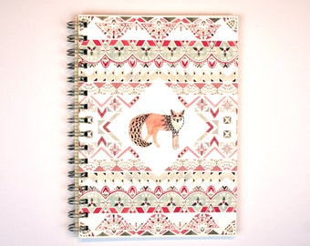 with the weeds, where no colour is unwashed - A5 Spiral Bound Notebook