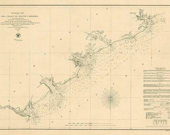 Sea Coast of South Carolina – 1856