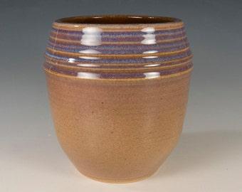 Prairie - Arts & Crafts Mission style stoneware Seiz Pottery vase