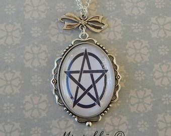 Necklace pentagram pentacle