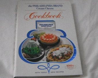 The Philadelphia Brand  Cream Cheese Cookbook vintage hardcover book
