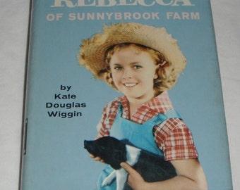 Vintage Shirley Temple Book Rebecca of Sunnybrook Farm HBDJ