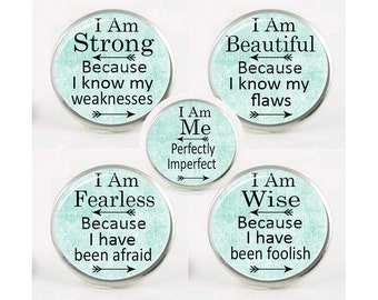 Snap Charms, INSPIRATIONAL SAYINGS, Chunk Charm, Interchangeable Jewelry, 18mm Charm, Snaps, Button Charm, Popper, #1 For Bracelet, Pendant