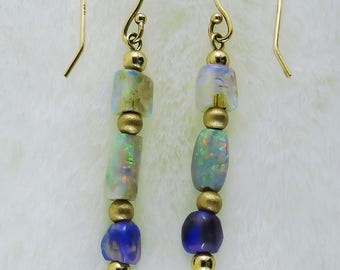 Opal Elegance Earrings
