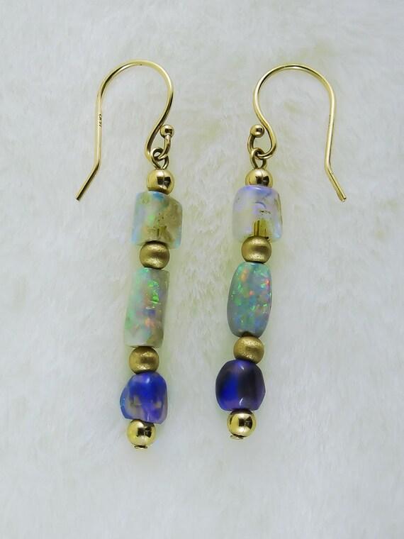 Opal Elegance Earrings