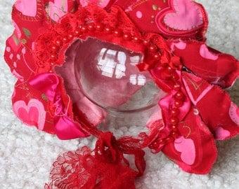 Sitter Flower Bonnet. Toddler Flower Bonnet, Photography  prop