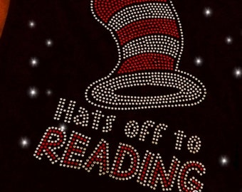 The Cat and the Hat/Dr. Suess/ Reading Tee. Children & Adult Sizes Available