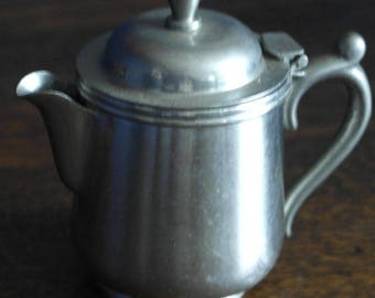 RESERVED vintage small size tea pot for one