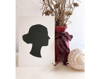 Custom Silhouette with Print