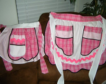 Mommy and Me Hostess Aprons