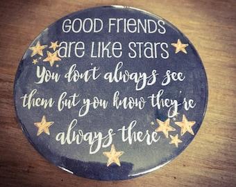 Beautiful badges...good friends are like stars