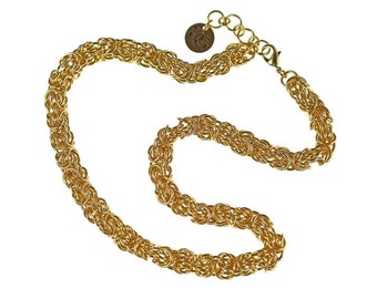 Gold Tryzantine Necklace