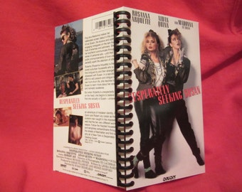 Desperately Seeking Susan VHS tape notebook