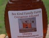 Pure Cinnamon Infused Honey Spring Harvest 12 oz jar