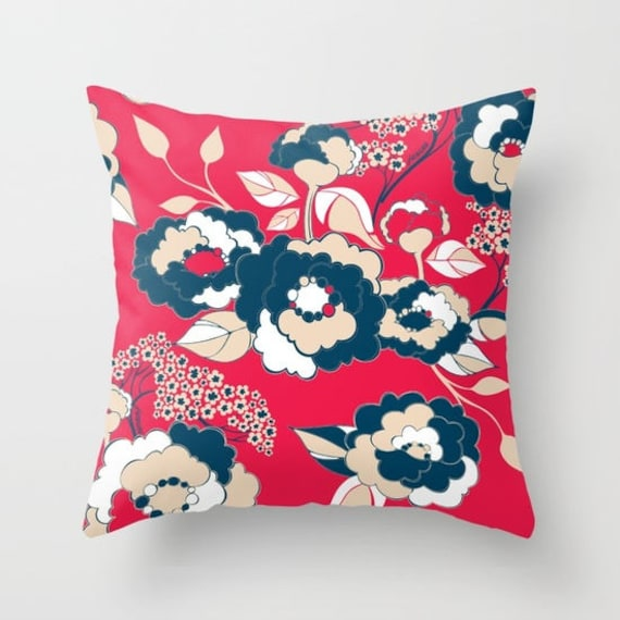Pop Florals in Liberty Pillow