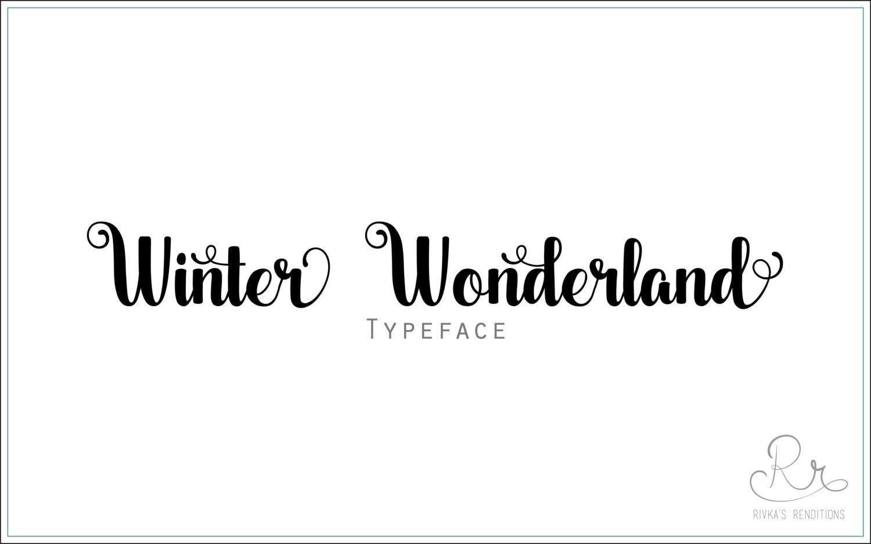handwriting font download winter wonderland otf ttf. Black Bedroom Furniture Sets. Home Design Ideas
