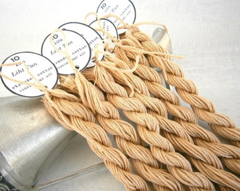 96 skeins Light Tan Embroidery Floss