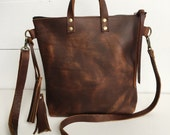 10.00 off sale, Brown leather crossbody bag, brown leather purse, crossbody purse, leather shoulder bag, everyday bag, leather purse