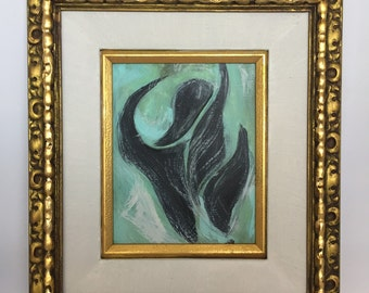 Abstract Painting The Dancer