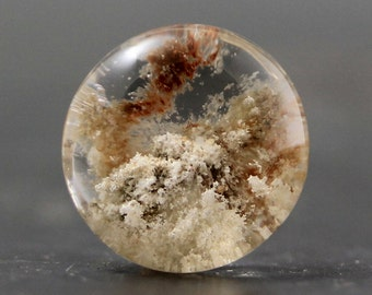 Garden Quartz Gemstone High Clarity Lodolite Natural Cabochon (CA6710)