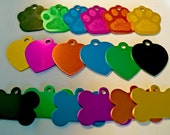 Pet id tags, personalized pet charm, pet id tag, dog tag, dog accessories, pet accessories,