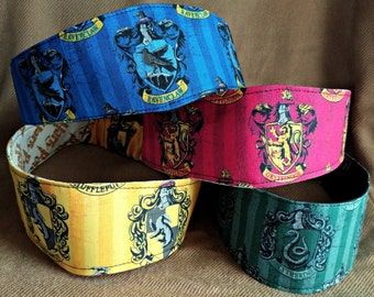 Hogwarts Houses Headbands - Gryffindor - Hufflepuff - Ravenclaw - Slytherin - Hairband - Hair Band - OOAK - Made to Order - Quick Shipping