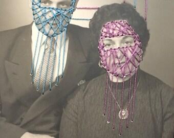 """vintage couple portrait Photo brodée """"maria et dominique"""""""