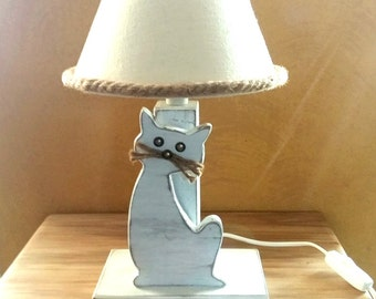 """Table Lamp """"Small Cat"""""""