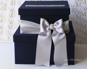 card box, guestbook and pen set