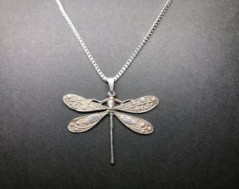 Paisley Dragonfly Pendant